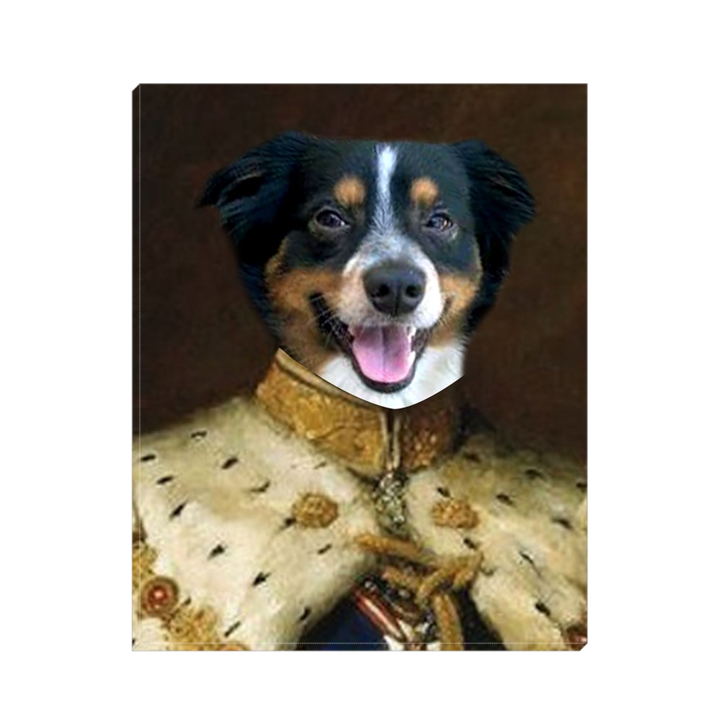 Custom King Portrait for Peggy