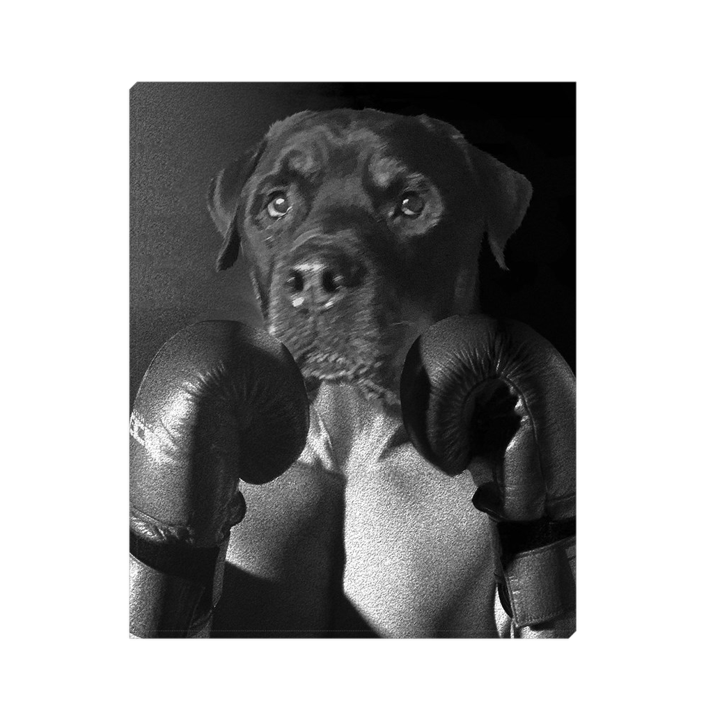 Custom Boxer Portrait for Angie