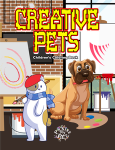 Creative Pets: Children's Coloring Book