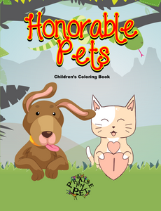 Honorable Pets: Children's Coloring Book