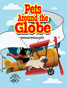 Pets Around the Globe: A Coloring Book for Children (Pre-Order)