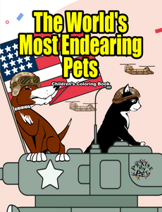 The World's Most Endearing Pets: Children's Coloring Book