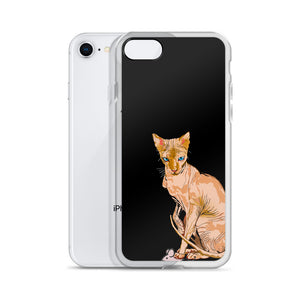 iPhone Case: Sphynx Cat