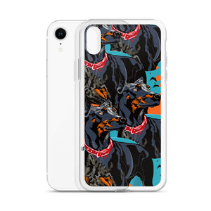 iPhone Case: Doberman Pinscher