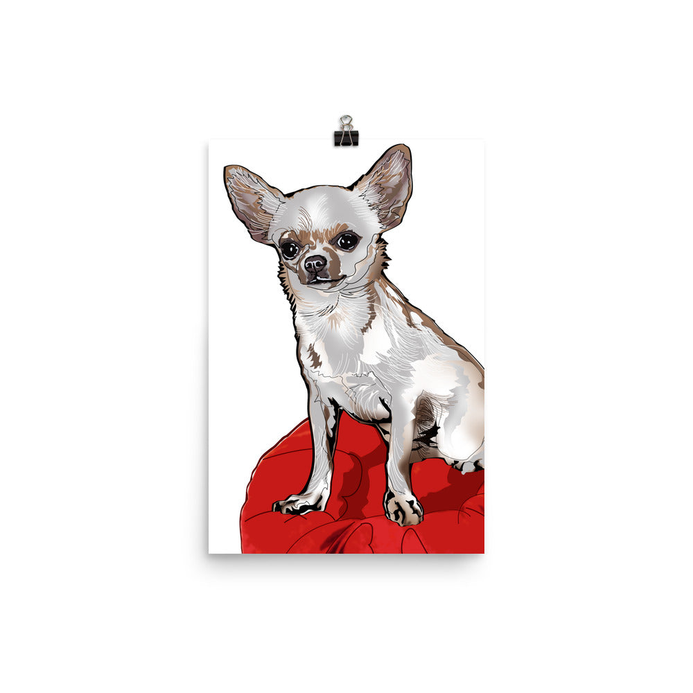 Enhanced Matte Paper Poster (in): Chihuahua