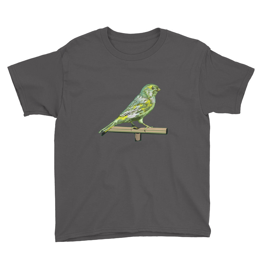 Youth Lightweight T-Shirt: Canary
