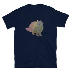 Unisex Basic Softstyle T-Shirt: Birman Cat Silhouette