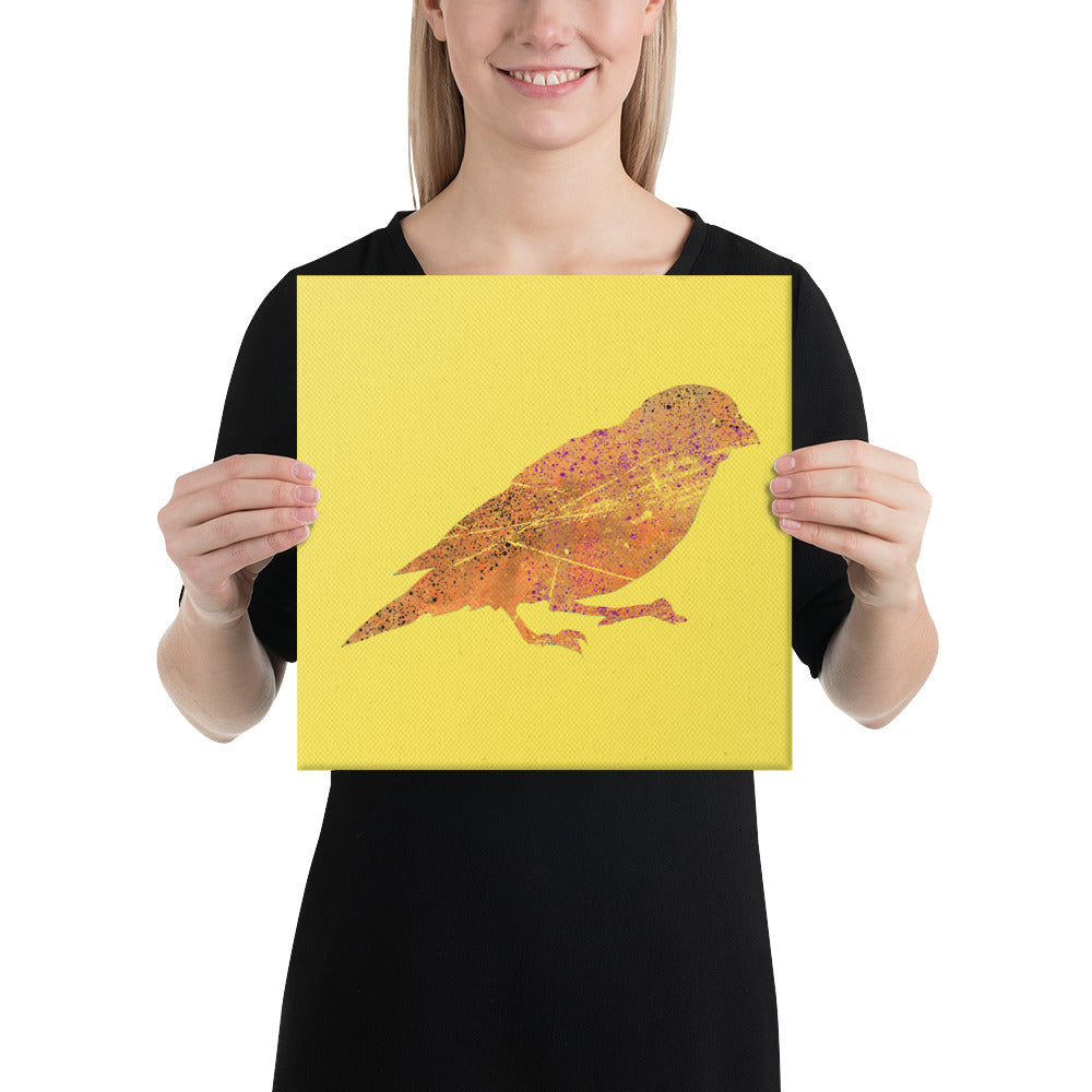 Canvas (in): Canary Silhouette
