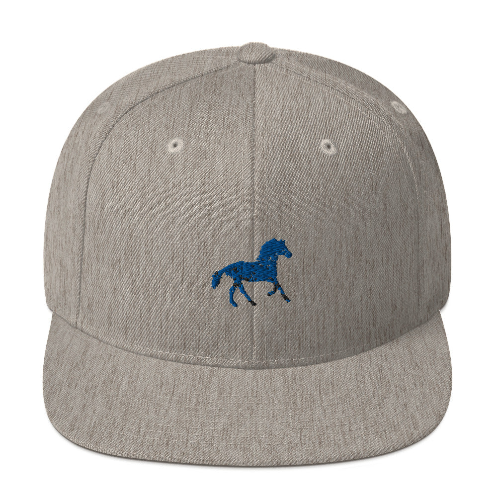 Classic Snapback: Horse Silhouette