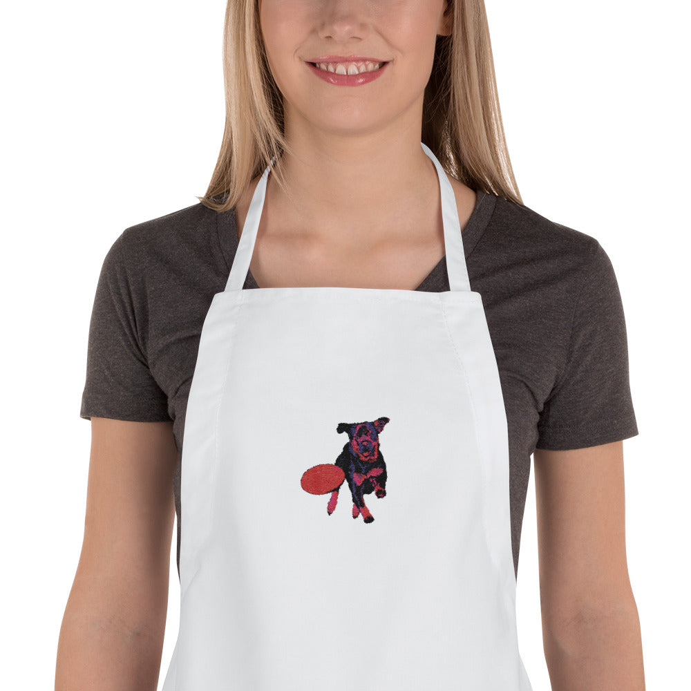 Embroidered Apron: Rottweiler