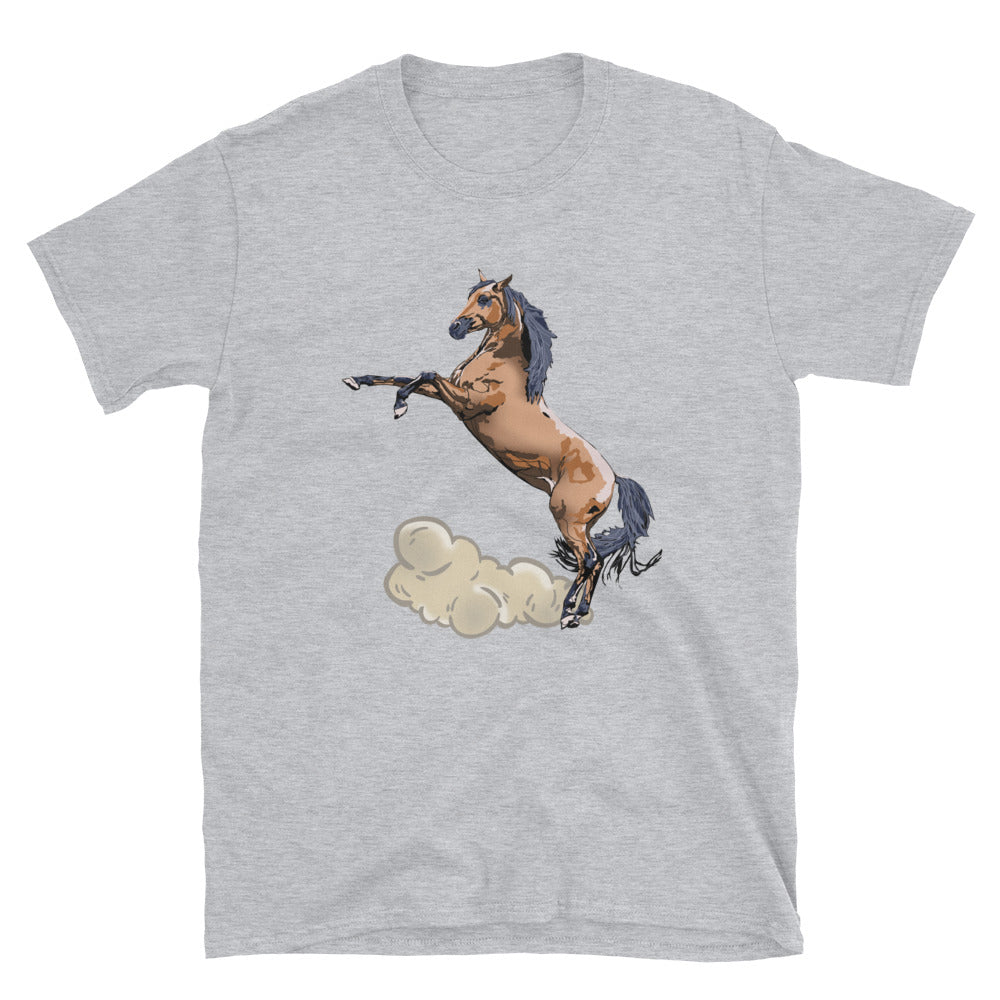 Unisex Basic Softstyle T-Shirt: Horse