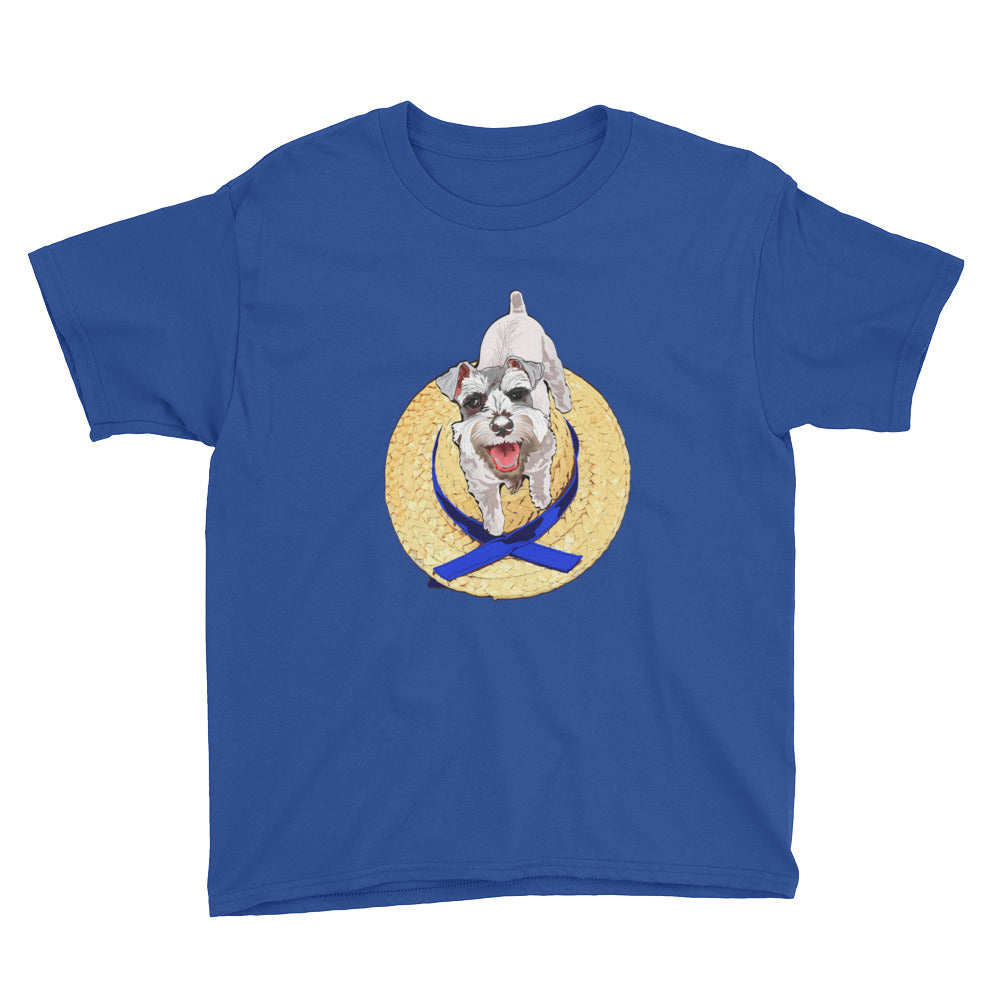 Youth Lightweight T-Shirt: Miniature Schnauzer