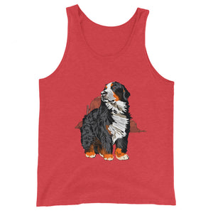 Unisex Premium Tank Top: Bernese Mountain Dog