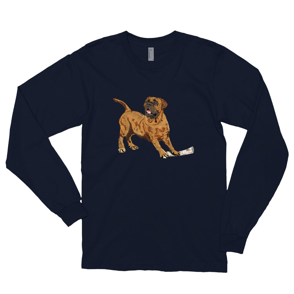 Unisex Long Sleeve Shirt: Mastiff