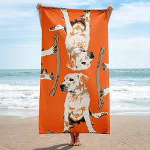 Sublimated Towel: Labrador Retriever
