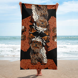 Sublimated Towel: Yorkshire Terrier