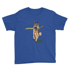 Youth Lightweight T-Shirt: German Shepherd
