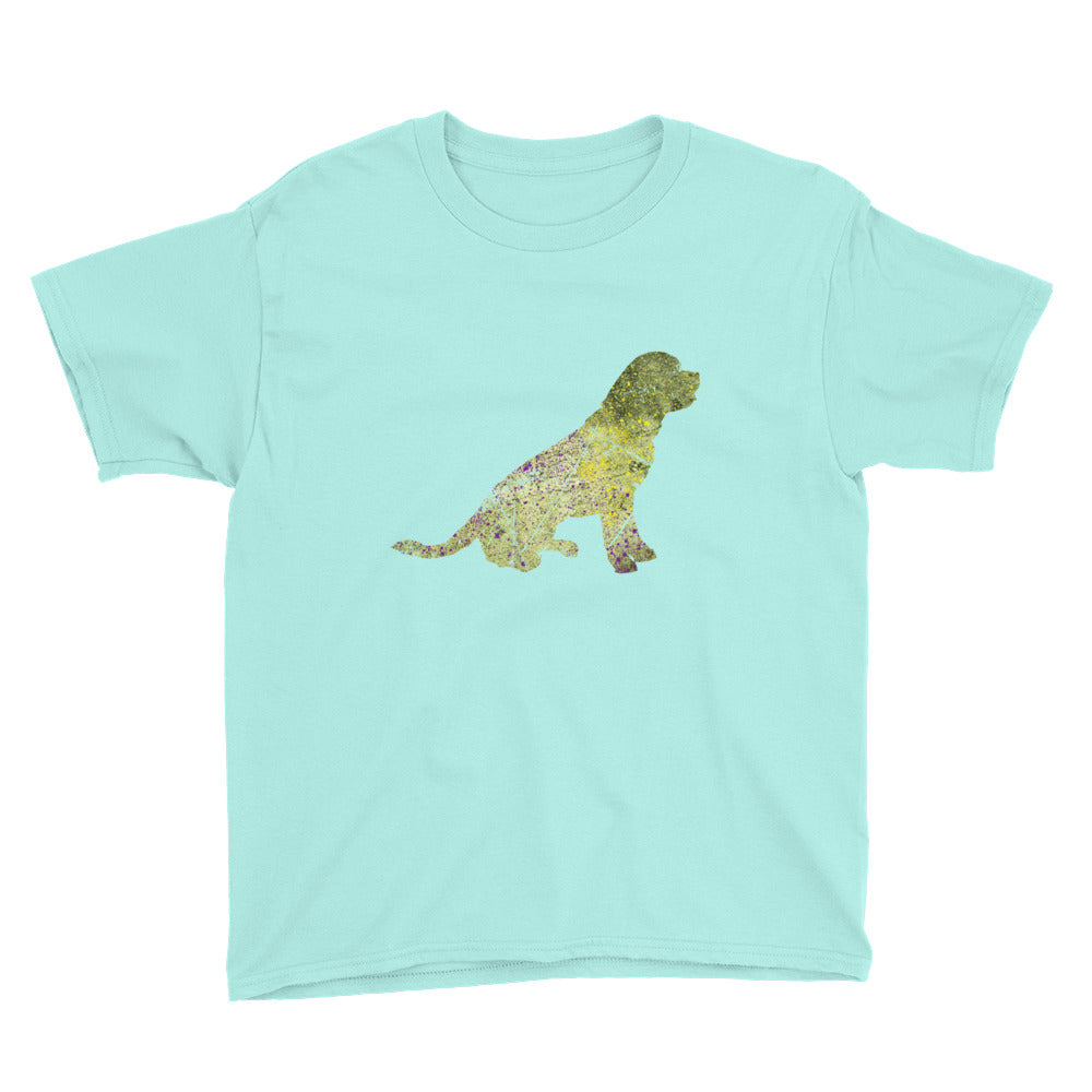Youth Lightweight T-Shirt: Rottweiler Silhouette