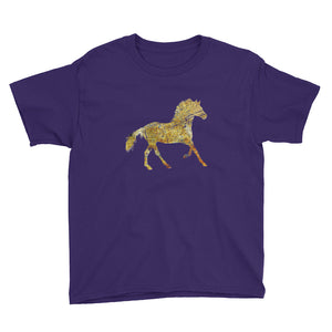 Youth Lightweight T-Shirt: Horse Silhouette