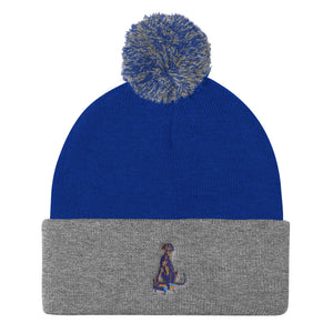 Pom Pom Beanie: Great Dane