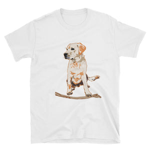 Unisex Basic Softstyle T-Shirt: Labrador Retriever