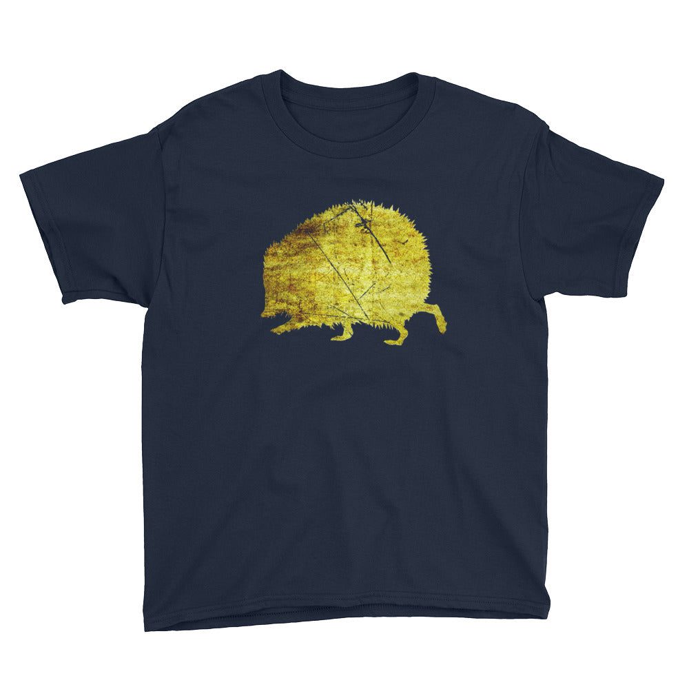 Youth Lightweight T-Shirt: Hedgehog Silhouette