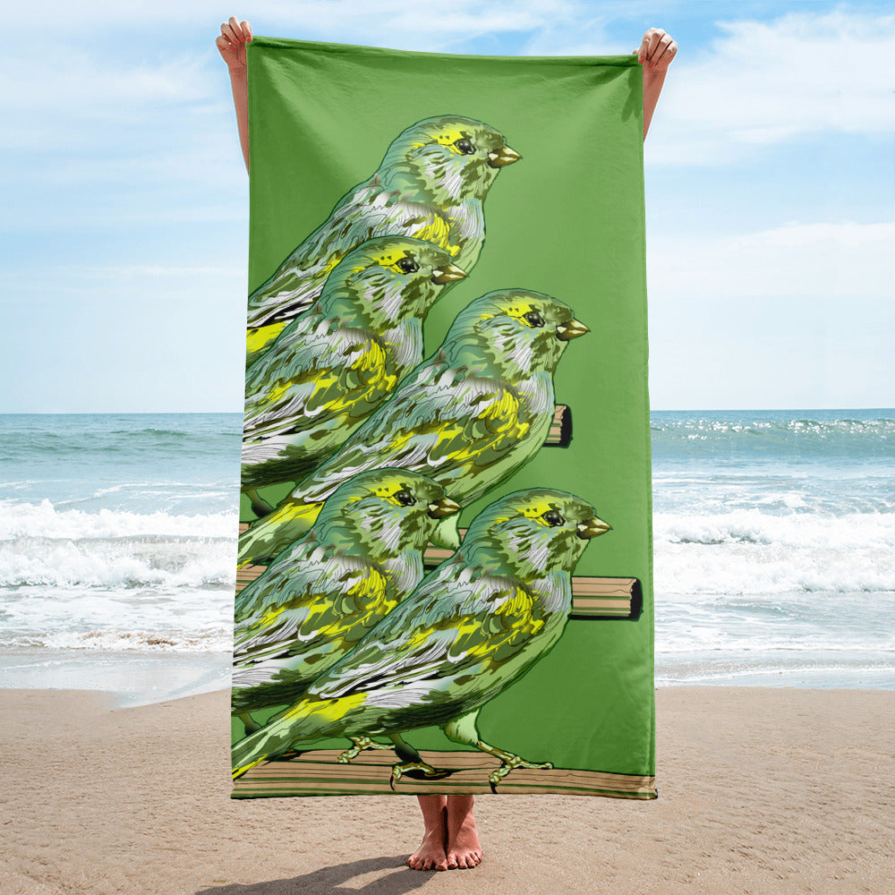 Sublimated Towel: Canary