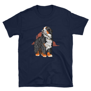 Unisex Basic Softstyle T-Shirt: Bernese Mountain Dog