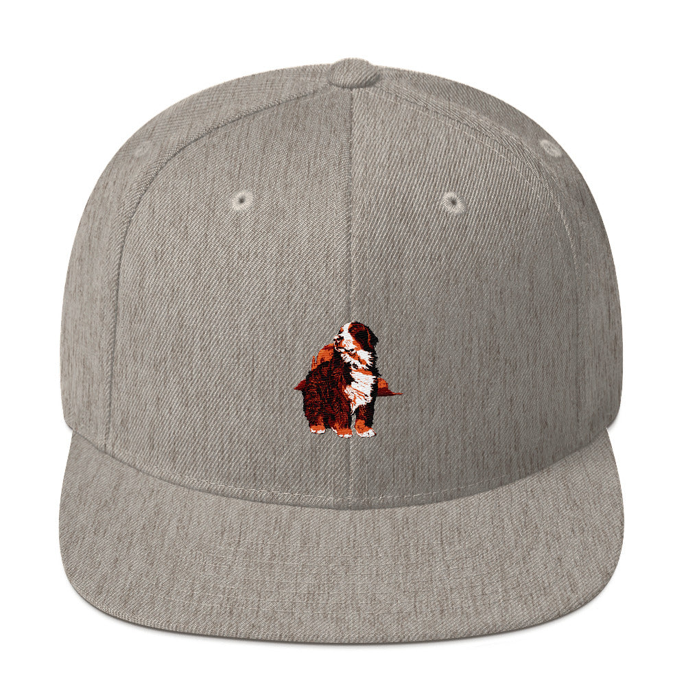 Classic Snapback: Bernese Mountain Dog