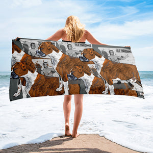 Sublimated Towel: Boxer