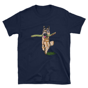 Unisex Basic Softstyle T-Shirt: German Shepherd