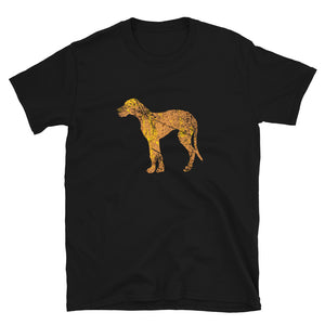 Unisex Basic Softstyle T-Shirt: Great Dane Silhouette