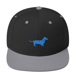 Classic Snapback: Dachshund Silhouette