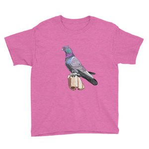 Youth Lightweight T-Shirt: Pigeon