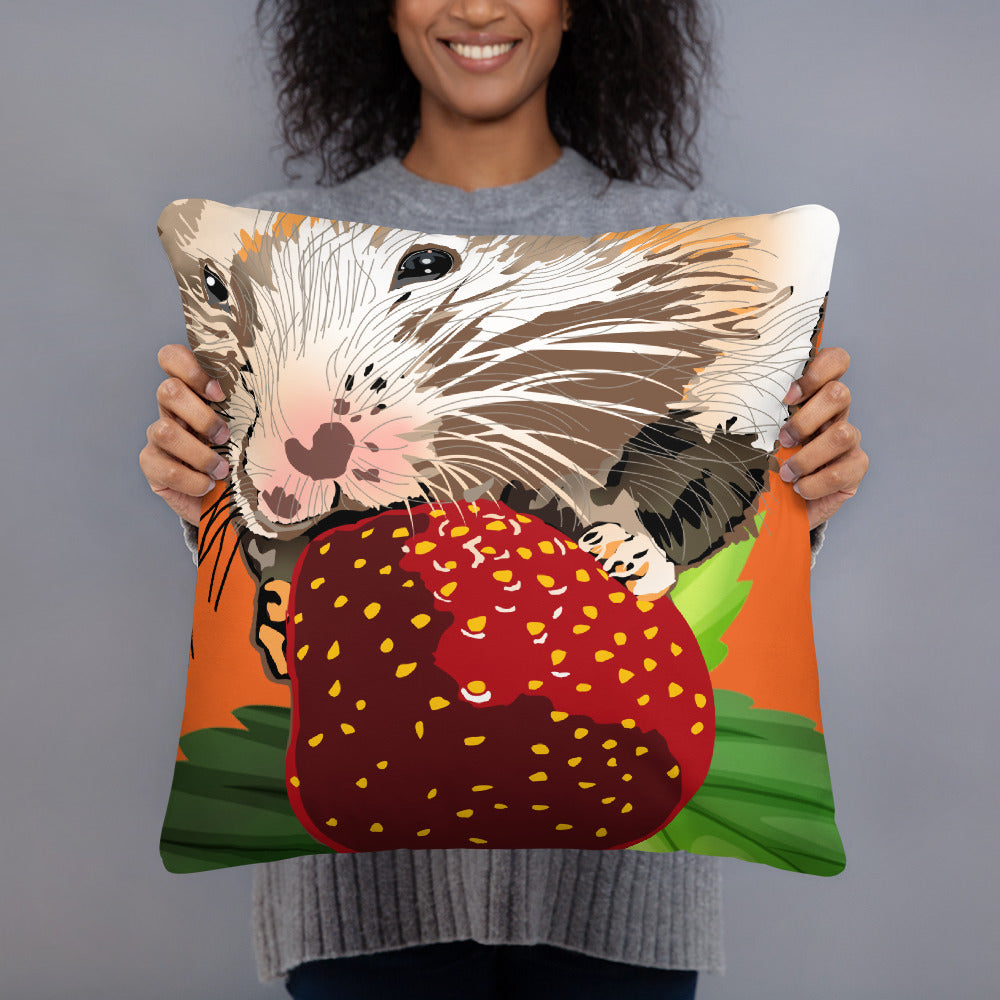 All-Over Print Basic Pillow: Hamster