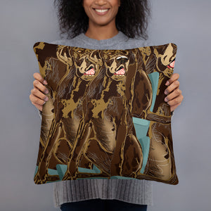 All-Over Print Basic Pillow: Great Dane