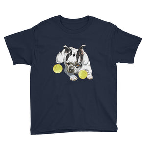 Youth Lightweight T-Shirt: Boston Terrier