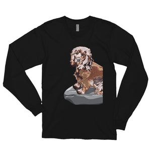 Unisex Long Sleeve Shirt: Cocker Spaniel