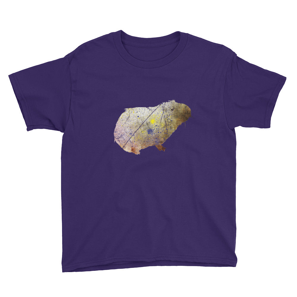 Youth Lightweight T-Shirt: Guinea Pig Silhouette