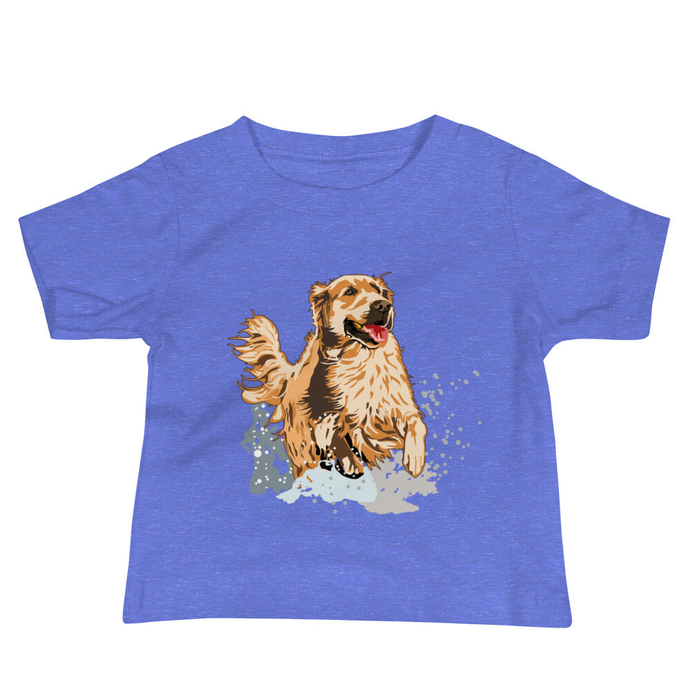 Baby Premium Tee: Golden Retriever