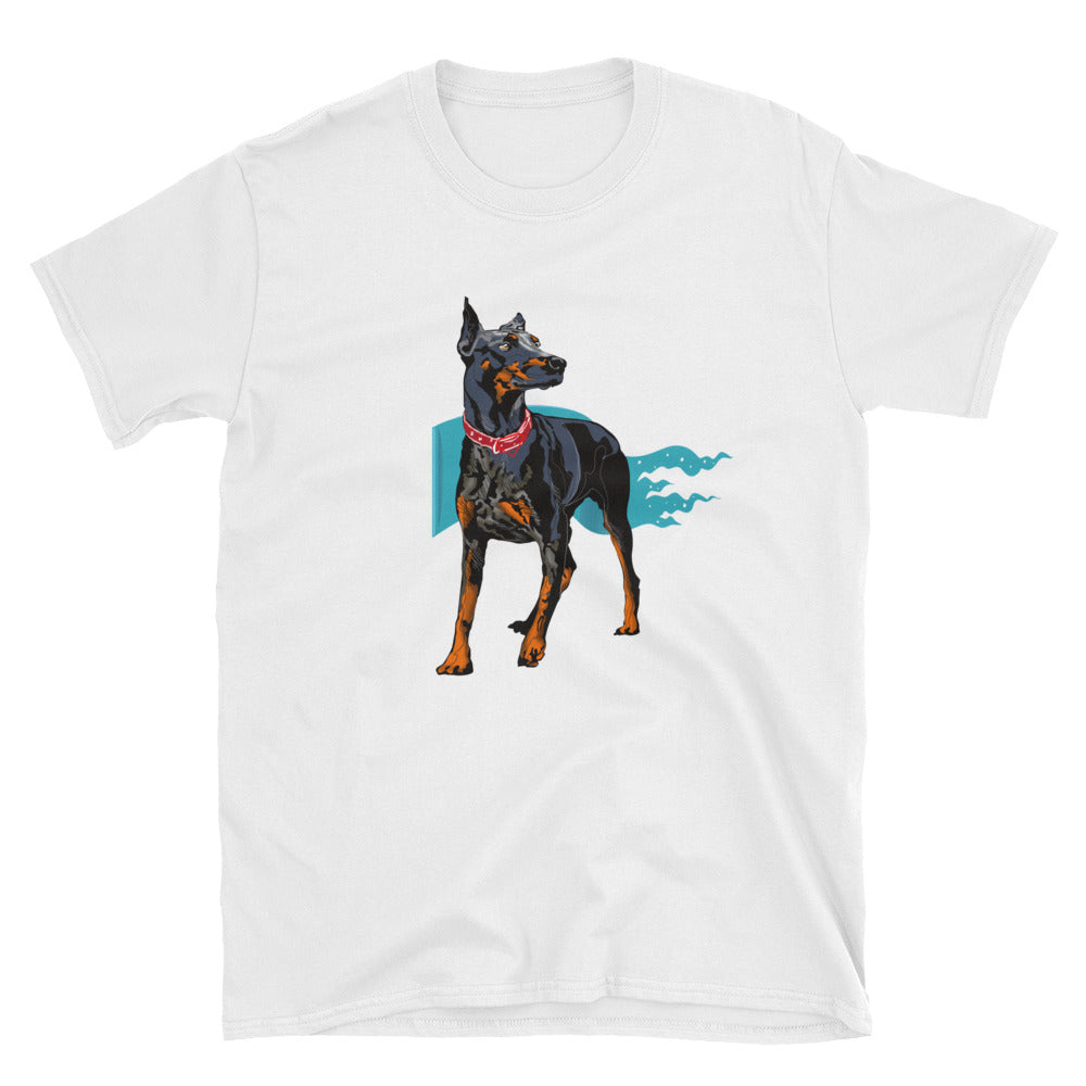 Unisex Basic Softstyle T-Shirt: Doberman Pinscher