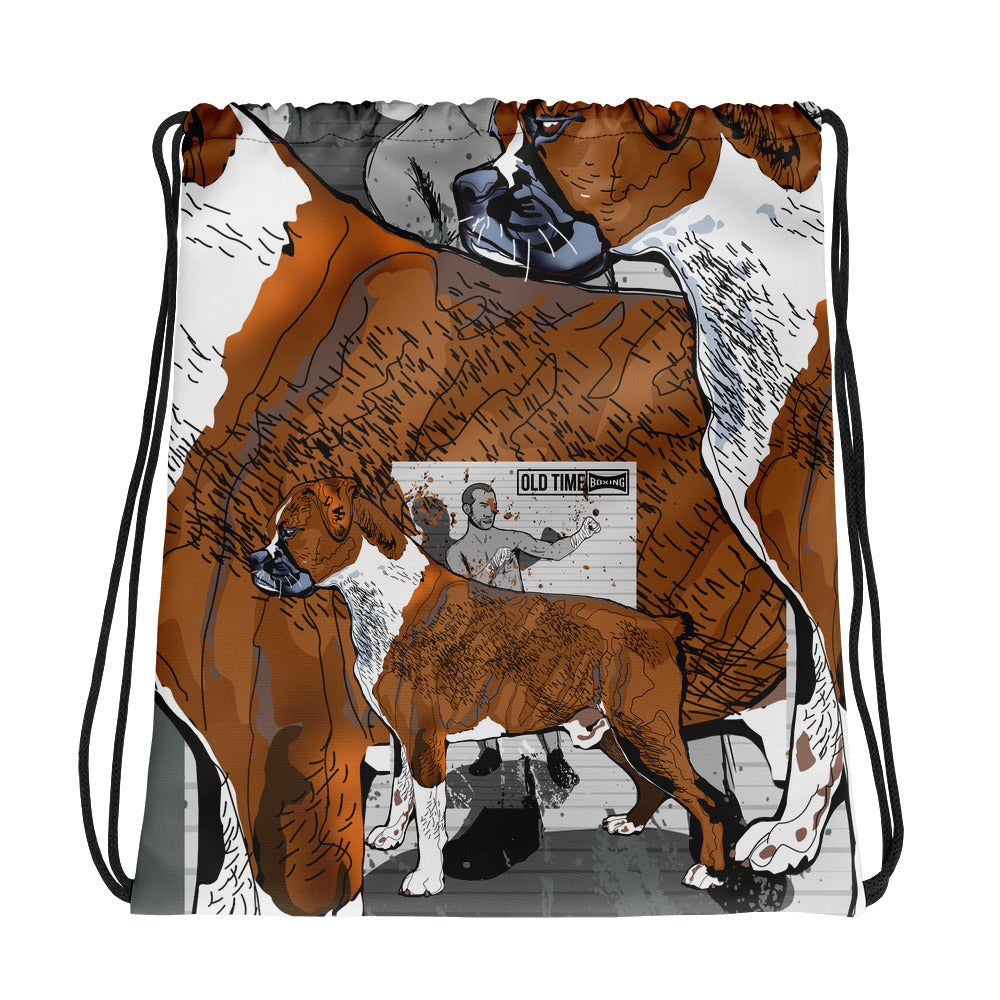 All-Over Print Drawstring Bag: Boxer