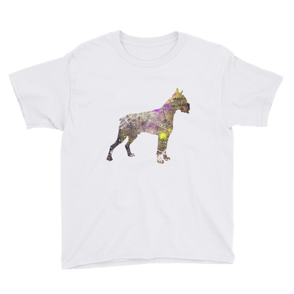 Youth Lightweight T-Shirt: Boxer Silhouette
