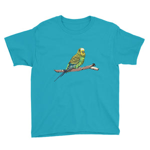 Youth Lightweight T-Shirt: Parakeet