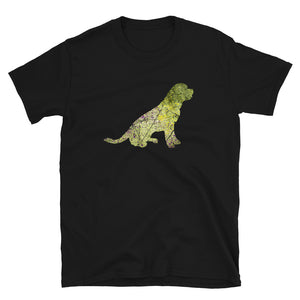 Unisex Basic Softstyle T-Shirt: Rottweiler Silhouette