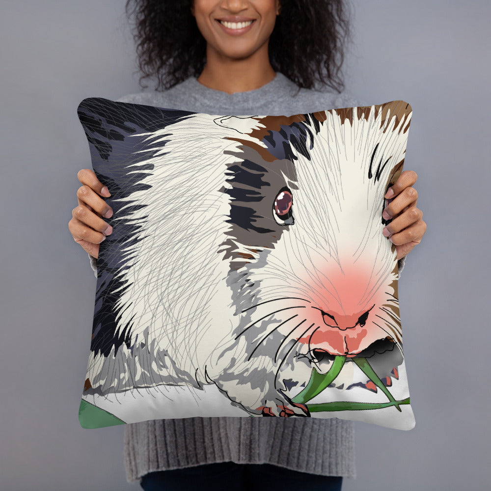 All-Over Print Basic Pillow: Guinea Pig