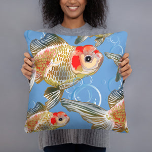 All-Over Print Basic Pillow: Gold Fish