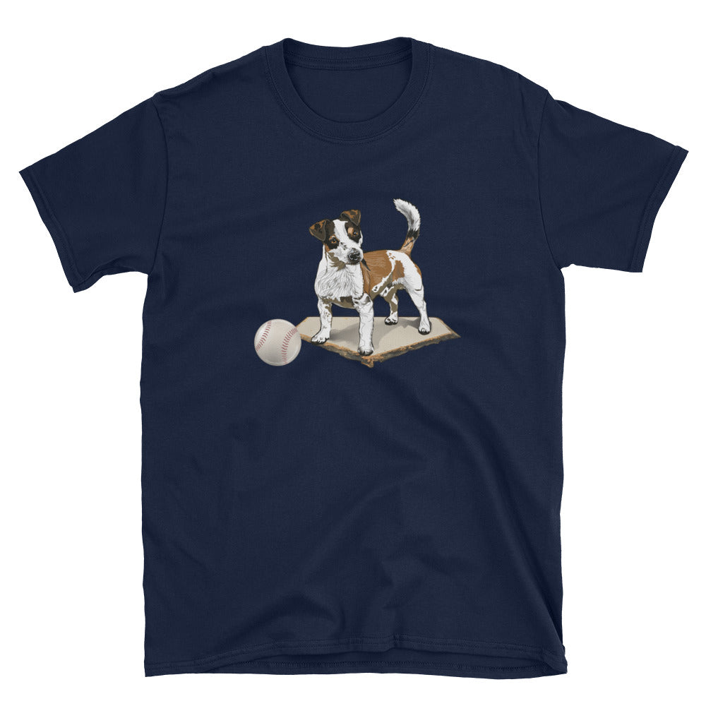 Unisex Basic Softstyle T-Shirt: Jack Russell Terrier