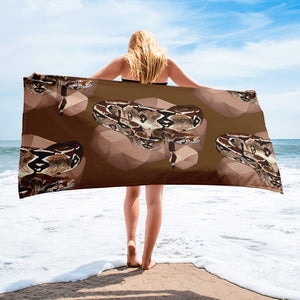 Sublimated Towel: Boa Constrictor