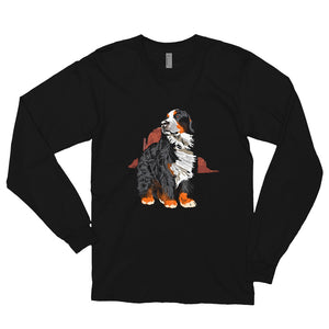 Unisex Long Sleeve Shirt: Bernese Mountain Dog